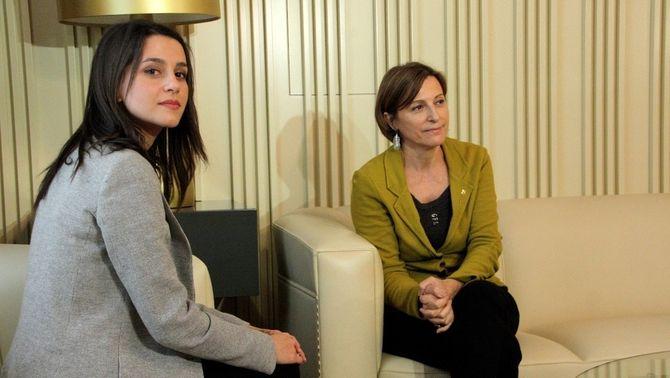Forcadell declara Arrimadas cap de l'oposició al Parlament