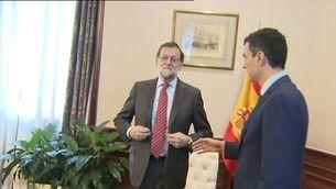 Rajoy i Sánchez no es donen la mà