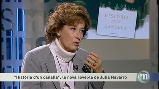"""Imatge de:Julia Navarro: """"Els canalles ho són per ambició i es creuen més intel·ligents"""""""