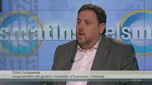 Declaracions d'Oriol Junqueras sobre impostos