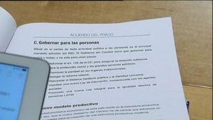 """Primeres reaccions a l""""acord del Prado"""" de Compromís"""