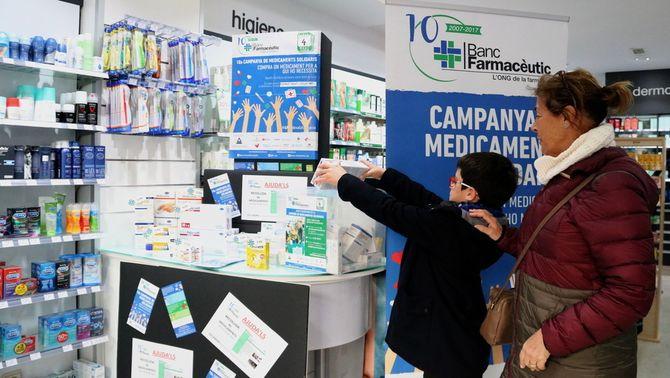 """La Campanya Medicaments Solidaris arriba a la dècada amb el repte de posar fi a la """"pobresa farmacèutica"""""""