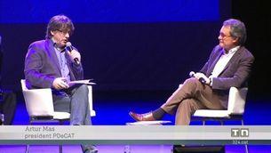 El PDeCAT s'emmiralla en el projecte polític de Macron