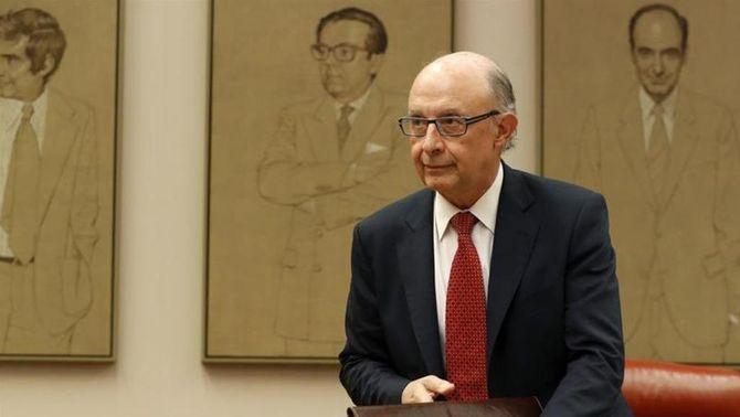 Ministre d'Hisenda Cristóbal Montoro