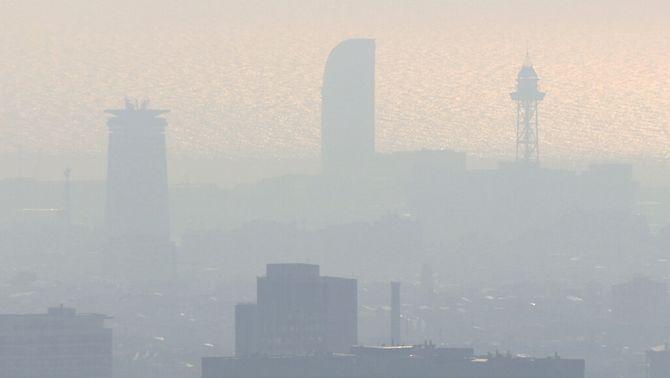 Catalunya lidera la contaminació per ozó a Espanya i bat rècords aquest estiu