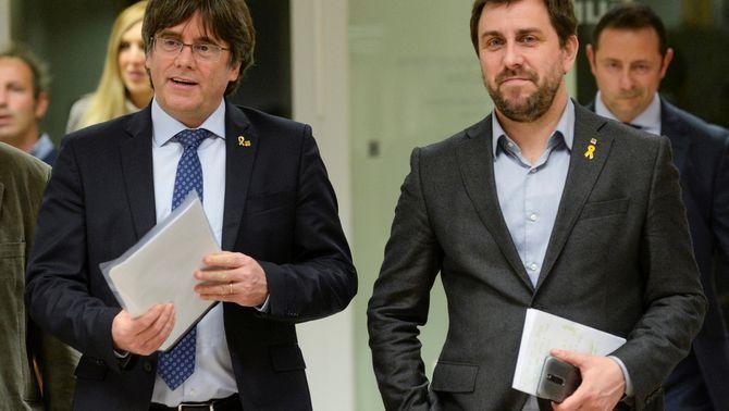 L'Advocacia de l'Estat demana que suspenguin les euroordres contra Puigdemont i Comín