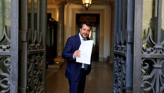 El Senat obre la porta a jutjar Salvini per impedir el desembarcament de l'Open Arms
