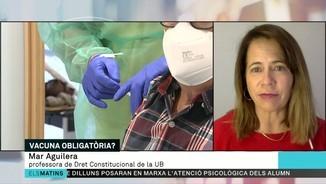 """Imatge de:Mar Aguilera: """"Galícia no té competències per obligar a vacunar-se"""""""