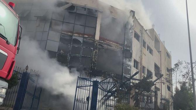 Una vintena de morts, la majoria dones, en l'incendi d'una fàbrica tèxtil a Egipte