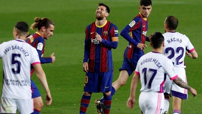 """Messi: """"Té unes ganes de treure'm una targeta... buuu... increïble"""""""