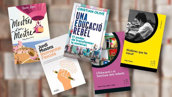 Llibres de profes fora de sèrie que afavoreixen l'esperit crític i la creativitat