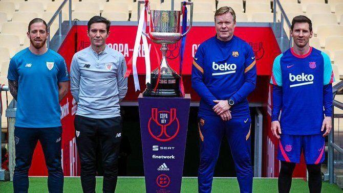 Piqué i Griezmann, titulars a la final de Copa Athletic - Barça