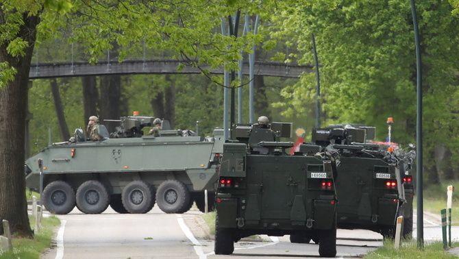 L'exèrcit i la policia belga han mantingut un gran dispositiu per detenir el militar negacionista i relacionat amb grups de la ultradreta