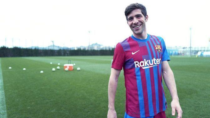 Es presenta la nova samarreta del Barça