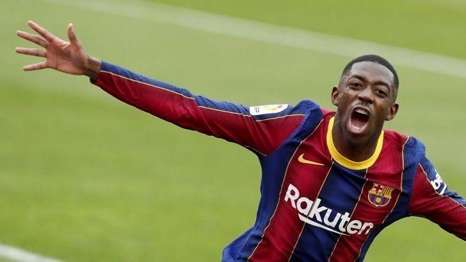 La primera oferta del Barça per renovar Dembélé