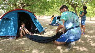 Prohibeixen acampades i rutes i limiten l'activitat agrícola pel risc extrem d'incendi