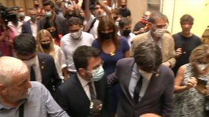 Aragonès i Puigdemont es troben a l'Alguer després de la decisió de la justícia italiana