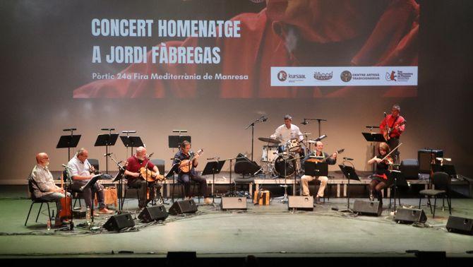 Una de les actuacions en el marc del Pòrtic de la Fira Mediterrània al Kursaal de Manresa. 10 d'octubre de 2021. (Horitzontal)