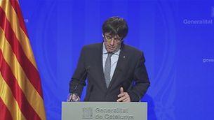 Declaracions Carles Puigdemont pla govern