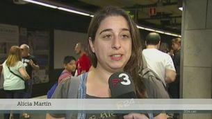 Malestar dels usuaris per la nova vaga de metro