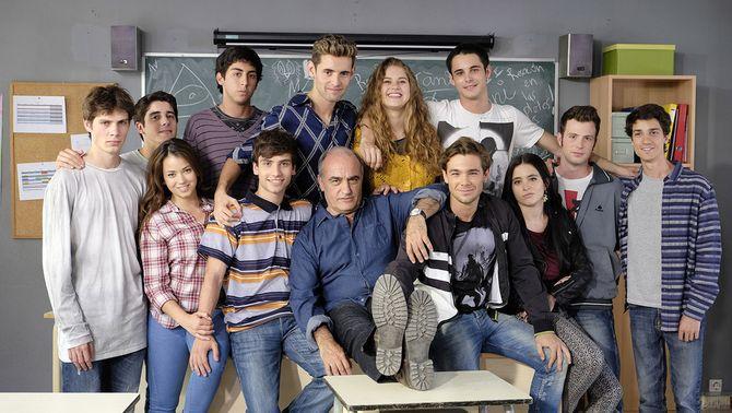 """Els protagonistes de la primera temporada de """"Merlí"""""""