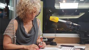 """Mònica Terribas, directora d'""""El matí de Catalunya Ràdio"""""""