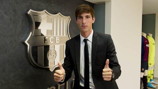 El Barça s'assegura la continuïtat de la jove perla de la Masia Juan Miranda