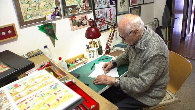 """Mor Josep Maria Blanco, l'històric dibuixant de """"La familia Ulises"""", del """"TBO"""""""
