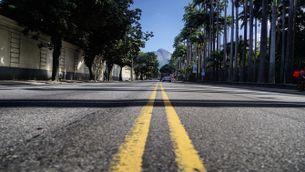 Al Brasil, molts carrers també estan buits pel confinament