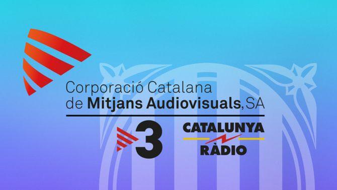 Logo CCMA, TV3 i Catalunya Ràdio