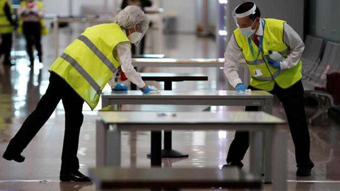 L'aeroport del Prat exigeix PCR negatiu als passatgers que vinguin de països de risc
