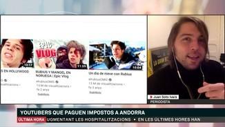 Imatge de:Youtubers que paguen impostos a Andorra