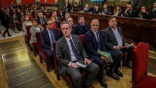 Els presos de l'1-O, durant el judici