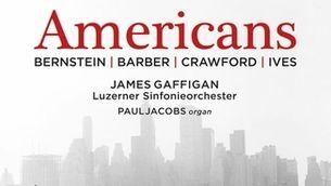 "Música de Bernstein, Ives, Crawford i Barber en el disc ""Americans"""