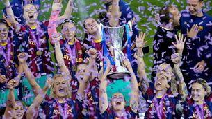 Primera Champions del Barça femení: així ha viscut la final l'entorn de les jugadores