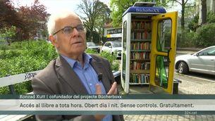 L'accés universal a lectura a Alemanya gràcies a antigues cabines de telèfon o arbres convertits en biblioteques de carrer