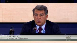 La Lliga adverteix del fort endeutament del Barça