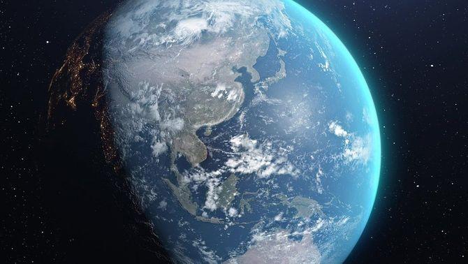 Imatge de la Terra des de l'espai