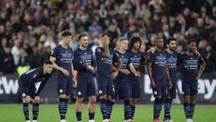El Manchester City, eliminat de la Copa de la Lliga als penals