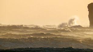 Mala mar a les Illes Medes (Foto: Josep Pascual)