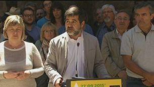 La nova direcció de l'ANC escull Jordi Sànchez com a president