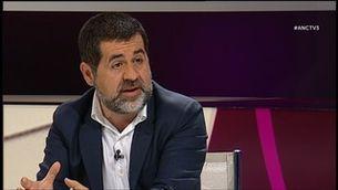 """"""".CAT"""" amb Jordi Sànchez de l'ANC i el regidor Joan Coma"""