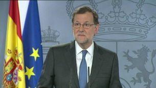 """Rajoy: """"La interlocució amb el PSOE no va ser possible"""""""