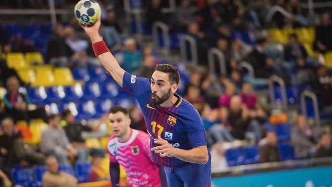 El Barça Lassa passa per sobre del Cangas (36-21) i el Fraikin Granollers tomba l'Osca (31-26)