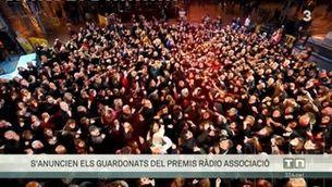La Marató de TV3 i Catalunya Ràdio, premiada en la 20a edició dels Premis Ràdio Associació