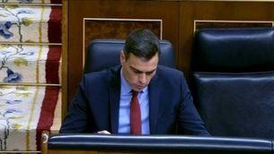 Sánchez demana la tercera pròrroga de l'estat d'alarma
