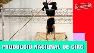 El camerino de La Producció Nacional de Circ
