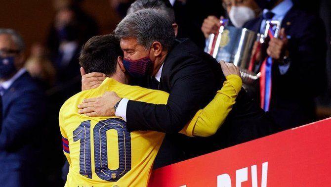 """Laporta: """"Ha tornat l'alegria al Barça"""""""