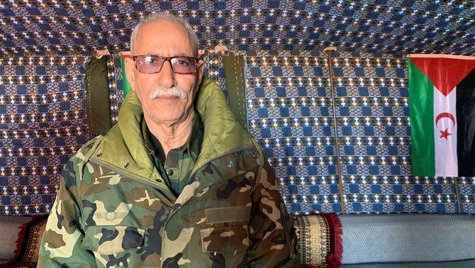 Imatge d'arxiu de Brahim Ghali, president de l'autoproclamada República Àrab Saharaui Democràtica (EFE/Javier Martín)