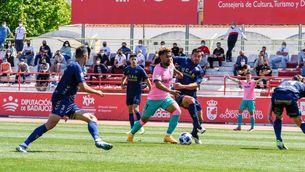 El somni del Barça B de pujar a Segona A haurà d'esperar (2-2; 5-4)